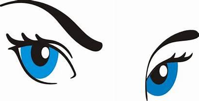 Eyes Clipart Cartoon Clip Eyebrow Eyelashes Eyebrows