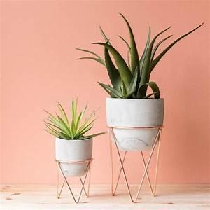 Cache Pot Sur Pied : 19 id es d co de support pour plante ~ Premium-room.com Idées de Décoration