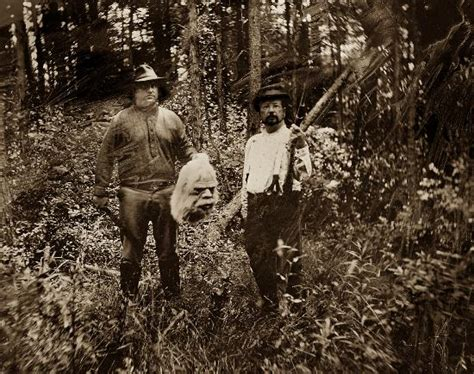 bigfoot researchers picture  gibsons