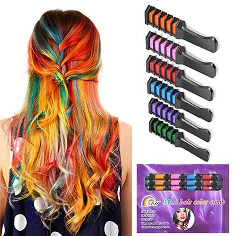Hair Color Chalk 24 Colors Fashion Hair Coloring Chalk