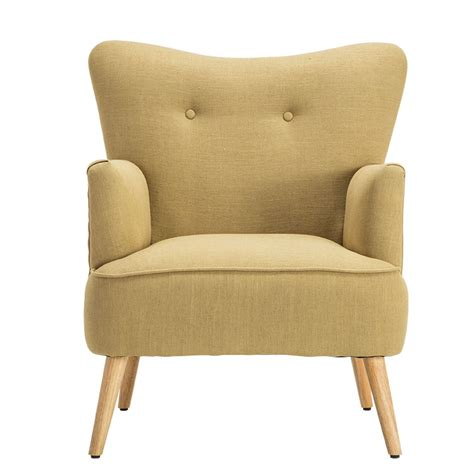 modern armchair chair wooden leg home furniture living