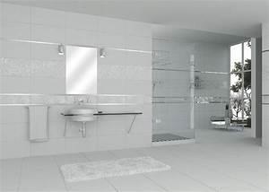 revetement mural salle de bain castorama cevelle horloge With carrelage adhesif salle de bain avec dalle led saillie