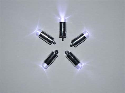 battery operated led light bulb 5 x white single led battery powered lights waterproof