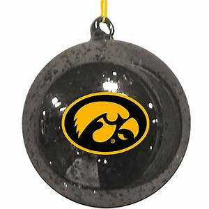 Iowa Hawkeyes Christmas Tree Ornament