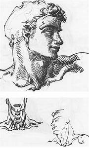 How To Draw Male And Female Necks And Head With Drawing