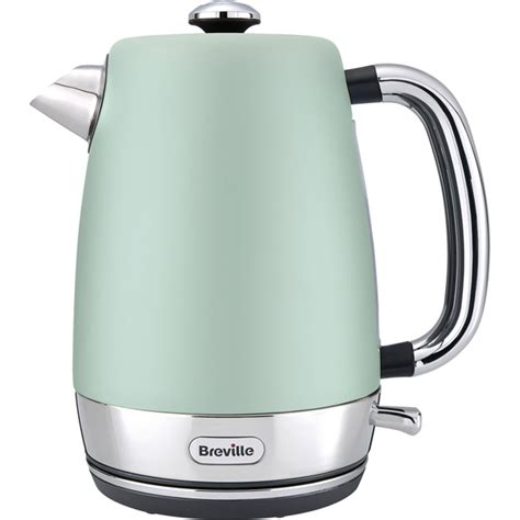 Kitchen Ideas With Black Appliances - breville strata collection kettle and toaster bundle green iwoot
