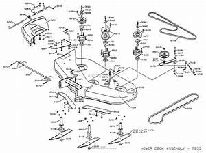 Dixon Ztr 4424  1998  Parts Diagram For Mower Deck