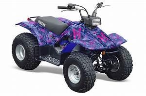 Quad 125 Yamaha : yamaha breeze 125 atv graphics butterflies purple quad ~ Nature-et-papiers.com Idées de Décoration