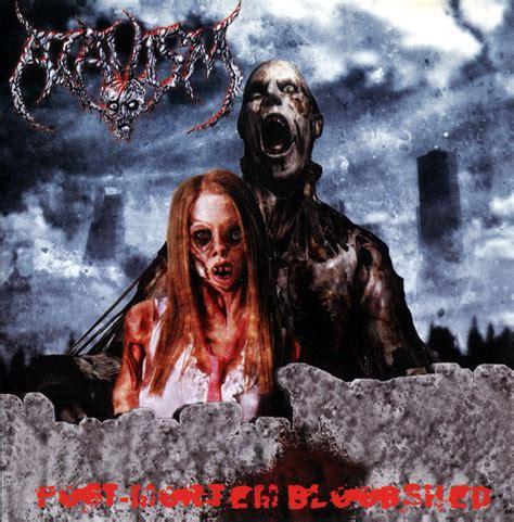 Atavism Putrefied Genitalia Post Mortem Bloodshed Forced Self Castration 2005 Cd Discogs