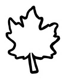 Fall Leaves Cut Out Template