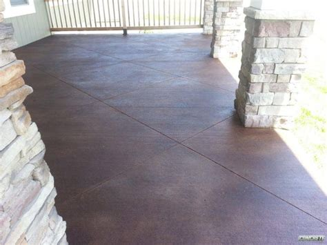 staining concrete concrete staining by kansas city concrete solutions