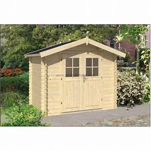 Abri De Jardin 5m2 : abri de jardin chalet de jardin en bois 5m2 robert 200x260cm ~ Edinachiropracticcenter.com Idées de Décoration