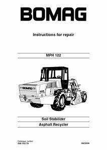 Bomag Mph 122 Soil Stabilizer Asphalt Recycler Pdf