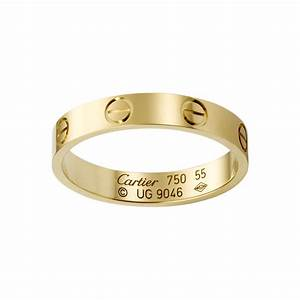 LOVE Wedding Band Yellow Gold Fine Wedding Bands For