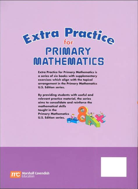 Primary Math Us 6 Extra Practice (030230) Details  Rainbow Resource Center, Inc