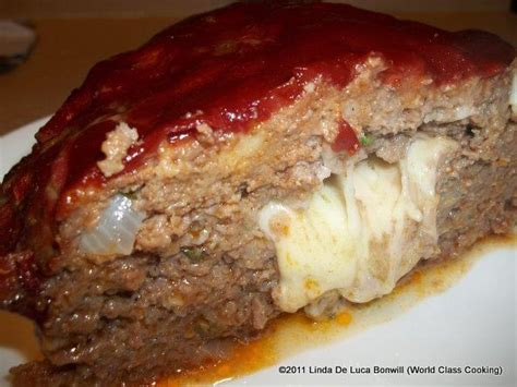 Ethan's special homemade meatloaf recipe: Stuffed Mozzarella Meatloaf: Ingredients: 2 lbs ground beef, lean 1 lbs fresh mozzarella cheese ...