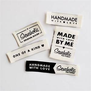 quotone of a kind handmade with love made by me sewaholic With clothing label design ideas