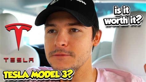 Download Tesla 3 Worth It PNG
