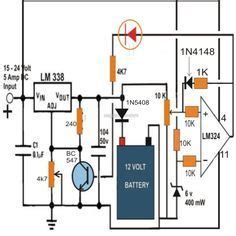 Simple Volt Battery Charger Circuits Google Search