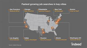 The Fastest Growing Job Searches in Key US Cities - Indeed ...