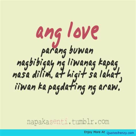tagalog sad love quotes quotesgram