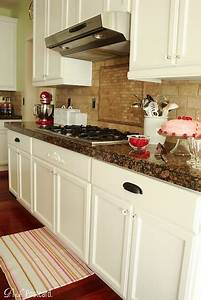 Plan to Happy: White Cabinets or Stained Cabinets? Kitchen ...
