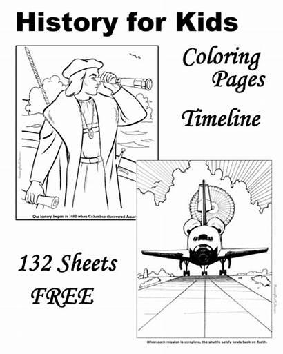 History American Coloring Pages Patriotic Raising Printable