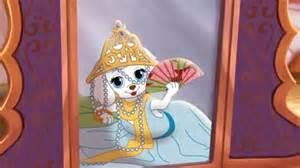 Palace Pets Pumpkin Dressed Up by Beauty And The Beast Dj Tales Disney Princess Disney