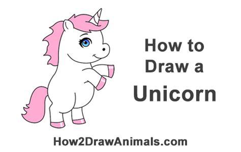 draw  unicorn cartoon
