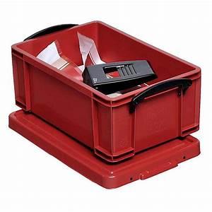 Aufbewahrungsboxen Kunststoff Mit Deckel : aufbewahrungsboxen mit deckel volumen 9 bis 84 l kunststoff rot ~ Frokenaadalensverden.com Haus und Dekorationen