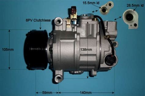 car air conditioning compressor audi a6 2 7 tdi diesel manual automatic mar 2005 to aug