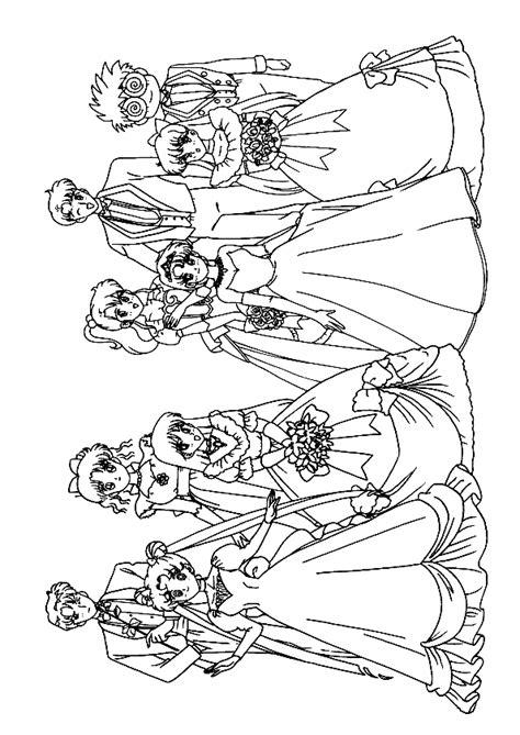 Kleurplaat Kleine Kinderen Half In Gkleurt by Kleurplaat Trouwen 7796 Kleurplaten
