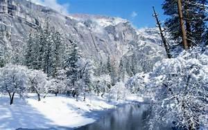 Winter Mountain Stream 33693 1920x1200 px ~ HDWallSource.com