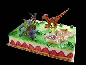 Gateau D Anniversaire : gateau d anniversaire dinosaure d 39 anniversaire idee ~ Melissatoandfro.com Idées de Décoration