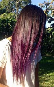 MANIC PANIC Purple Haze Ombre | manic panic × brown, black ...