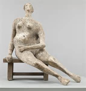 henry moore om ch seated woman  henry moore