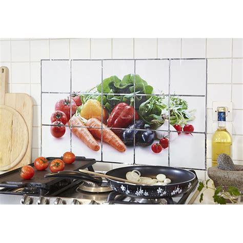 anti eclaboussure cuisine anti éclaboussure motif légumes protection plaques