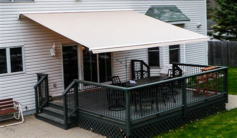 electric patio awnings systems  home sunesta
