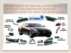 Suzuki Cars Parts by Buy Suzuki Car Parts