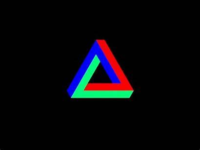 Triangle Penrose Dribbble Animation