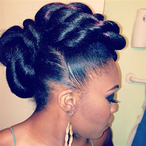 Updo Twist Hairstyles American by The New Yorker Some Hairspiration Quot With Buns Quot