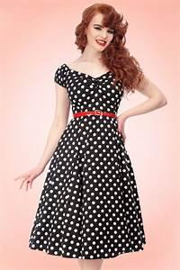 Coiffure Année 50 Pin Up : robe a pois ann e 60 photos de robes ~ Melissatoandfro.com Idées de Décoration