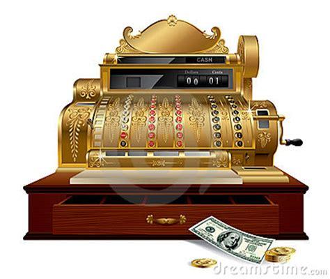 vintage cash register stock photo image