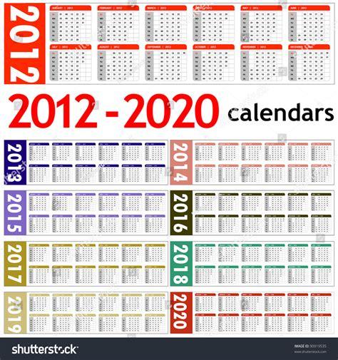 year calendars