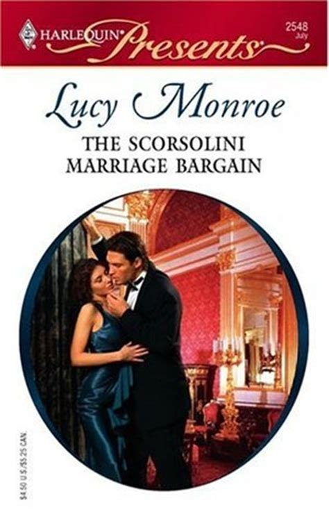 scorsolini marriage bargain  lucy monroe