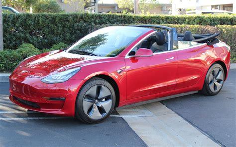 Tesla Model 3 convertible makes the EV that Elon Musk won ...