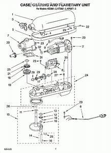 Kitchenaid Professional 600 Parts Diagram