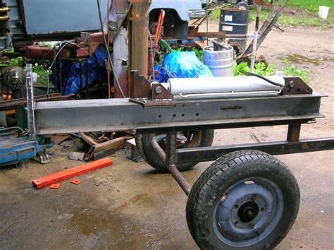 building  small log splitter beckmannag