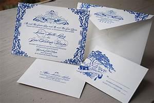 lorna jose39s puerto rico destination wedding invitations With delft blue wedding invitations