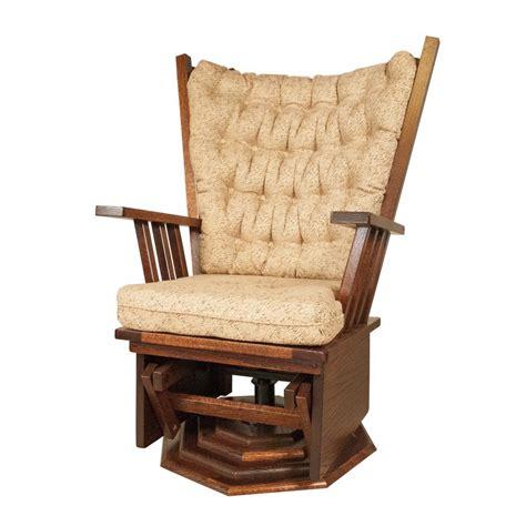 swivel rocker amish crafted furniture